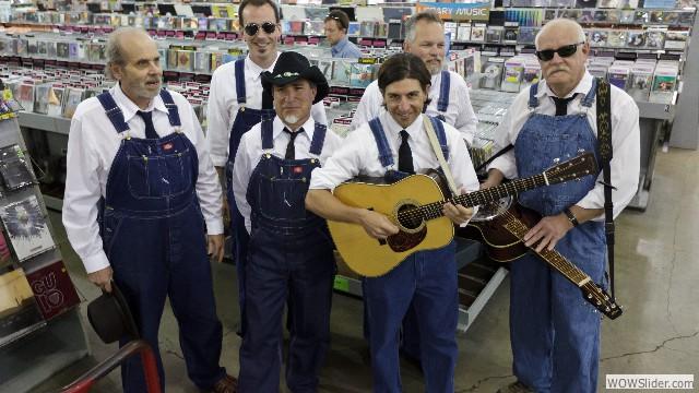 The Bluegrass Deacons
